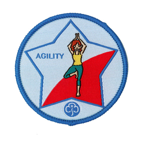 Guide Agility Woven Badge