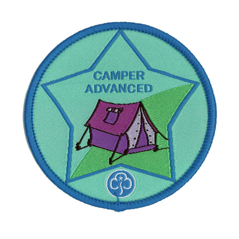 Guide Camper Advanced Woven Badge