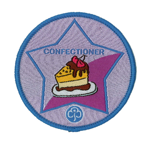 Guide Confectioner Woven Badge
