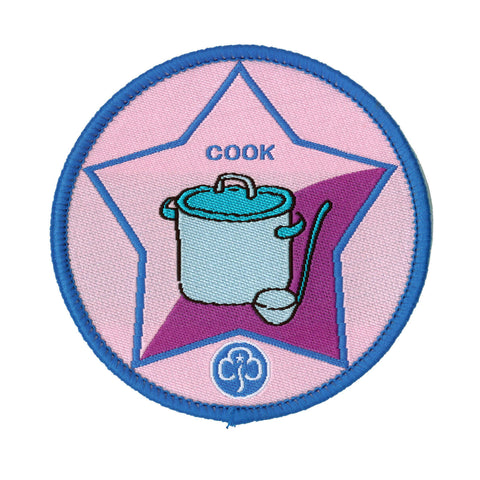 Guide Cook Woven Badge