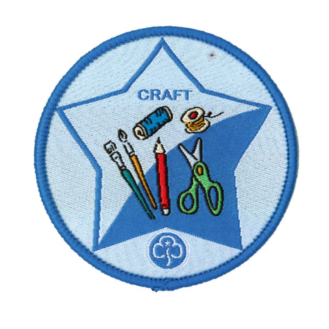 Guide Craft Woven Badge