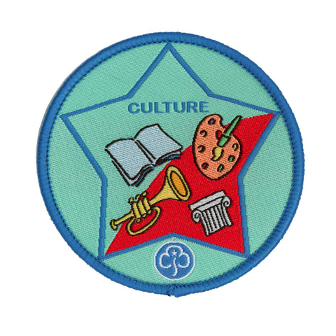 Guide Culture Woven Badge