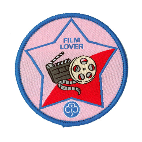 Guide Film Lover Woven Badge