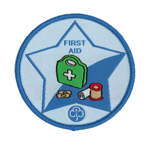 Guide First Aid Woven Badge