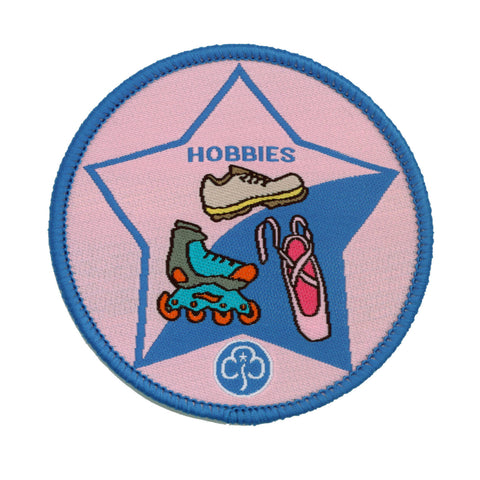 Guide Hobbies Woven Badge