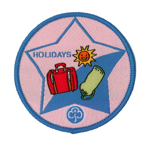 Guide Holidays Woven Badge