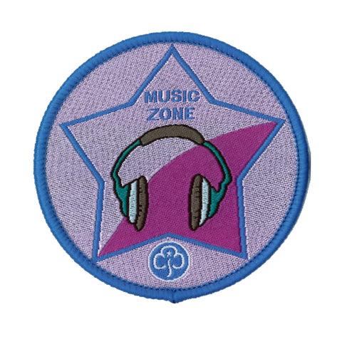 Guide Music Zone Woven Badge