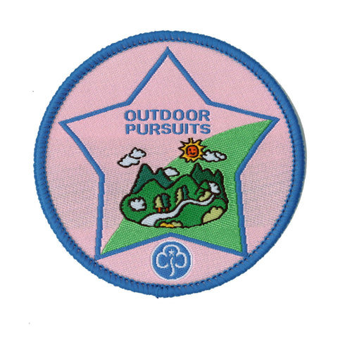Guide Outdoor Persuits Woven Badge