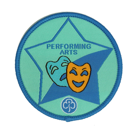 Guide Performing Arts Woven Badge