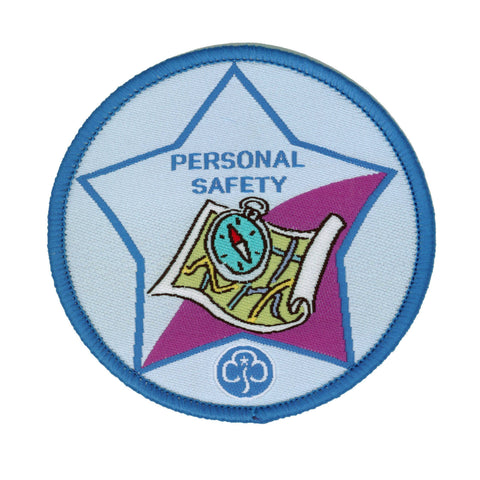 Guide Personal Safety Woven Badge