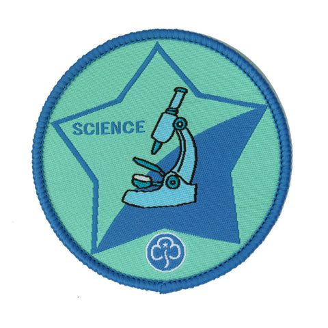 Guide Science Woven Badge