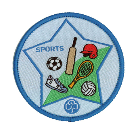 Guide Sports Woven Badge