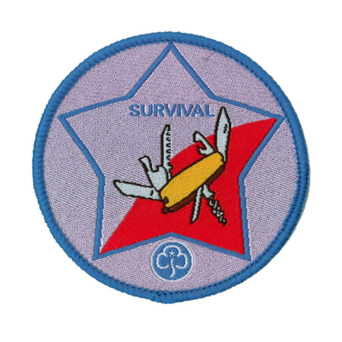 Guide Survival Woven Badge