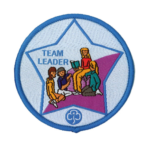 Guide Team Leader Woven Badge