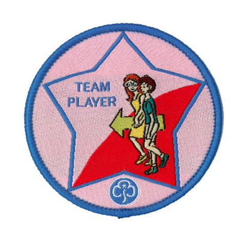 Guide Team Player Woven Badge