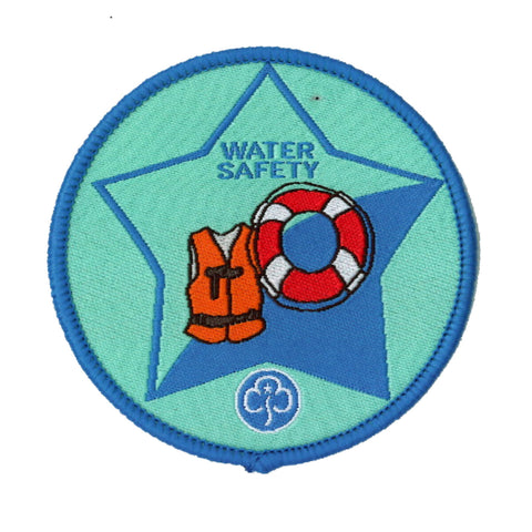 Guide Water Safety Woven Badge