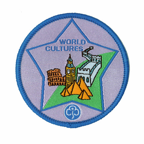 Guide World Cultures Woven Badge