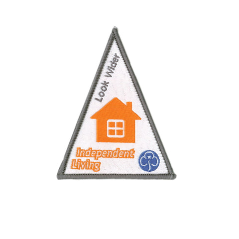 Look Wider Independent Living Woven Badge