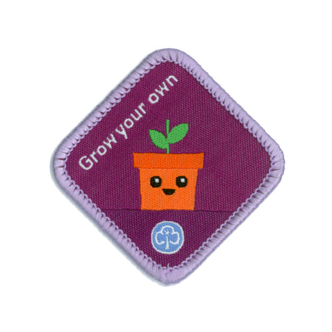 Brownies Grow Your Own Woven Badge