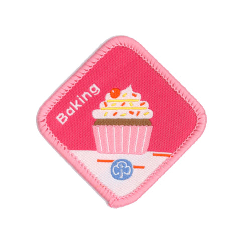 Brownies Baking Woven Badge