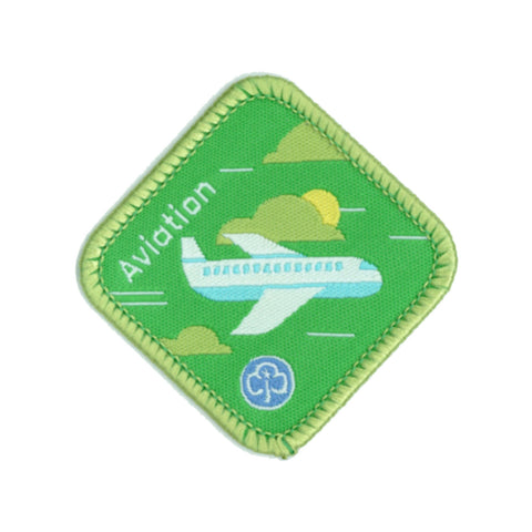 Brownies Aviation Woven Badge