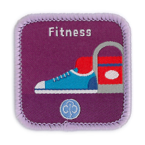 Guides Fitness Woven Badge
