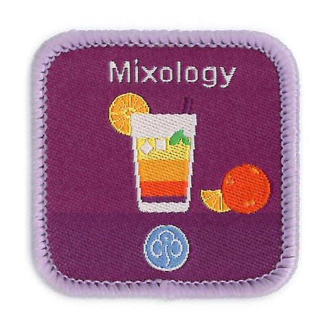 Guides Mixology Woven Badge