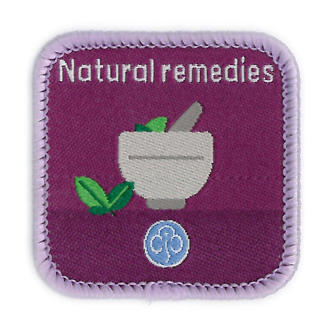Guides Natural Remedies Woven Badge