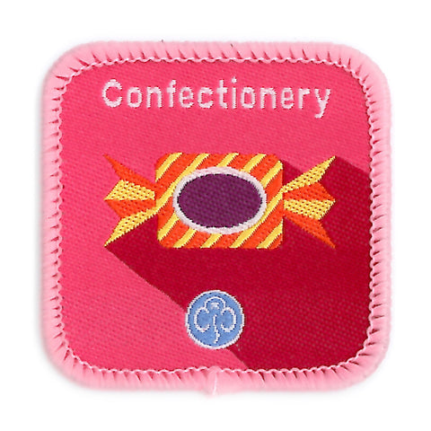 Guides Confectionery Woven Badge