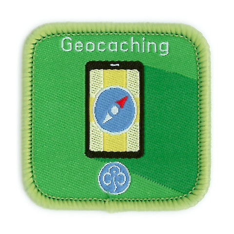 Guides Geocaching Woven Badge