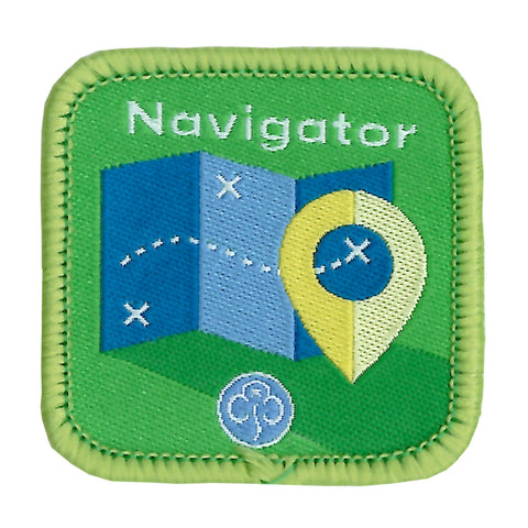 Guides Navigator Woven Badge