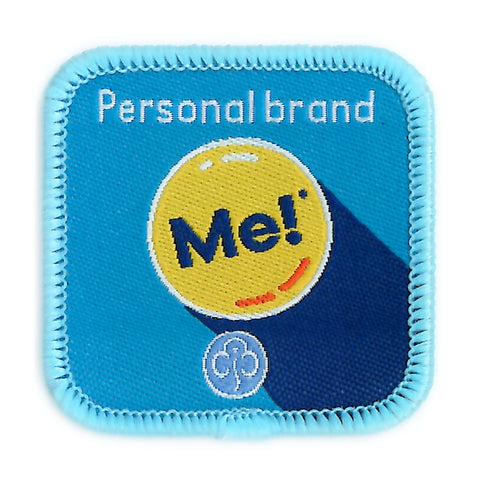 Guides Personal Brand Woven Badge