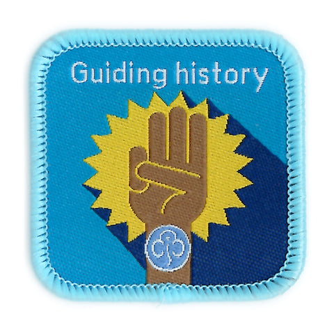 Guides Guiding History Woven Badge
