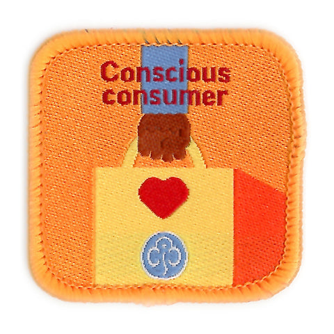 Guides Concious Consumer Woven Badge
