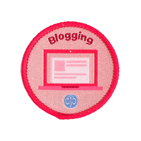 Rangers Blogging Woven Badge