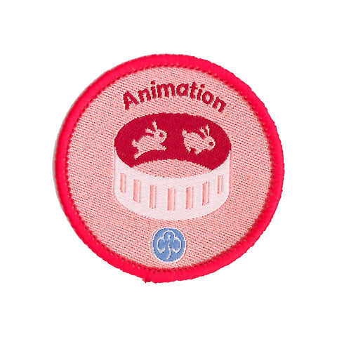 Rangers Animation Woven Badge