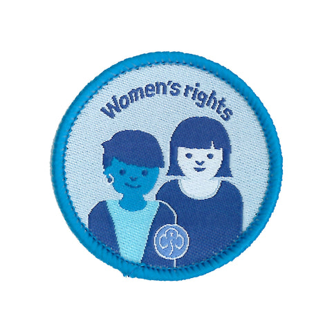 Rangers Women's Rights Woven Badge