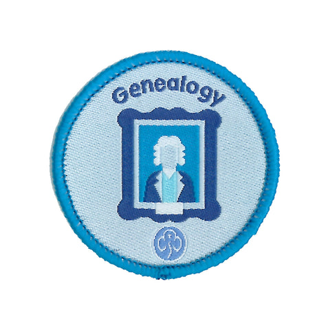 Rangers Genealogy Woven Badge