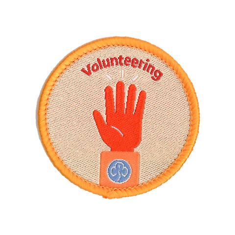 Rangers Volunteering Woven Badge