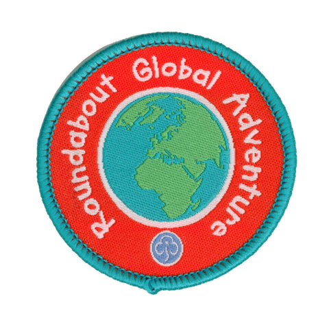 Roundabout Global Adventures Woven Badge
