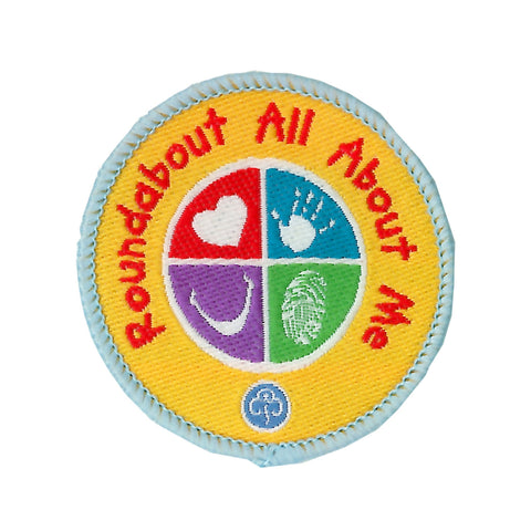 Roundabout All About Me Woven Badge