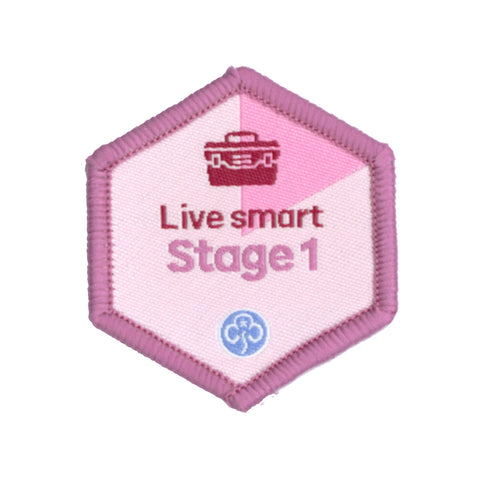 Skills Builder - Skills For My Future - Live Smart Stage 1 Woven Badge