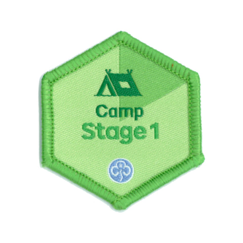 Skills Builder - Have Adventures - Camp Stage 1 Woven Badge