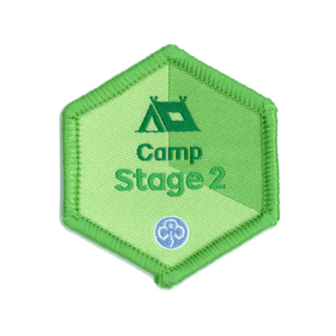 Skills Builder - Have Adventures - Camp Stage 2 Woven Badge