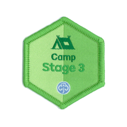 Skills Builder - Have Adventures - Camp Stage 3 Woven Badge