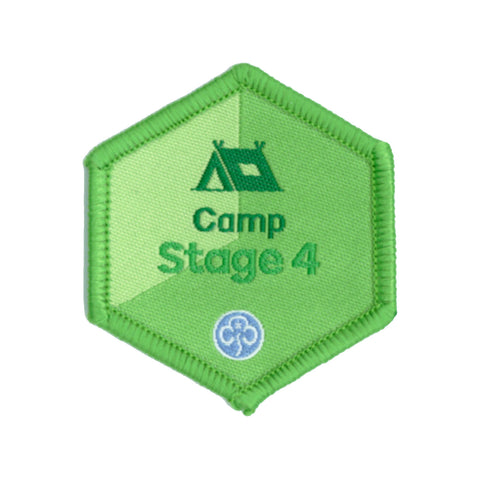 Skills Builder - Have Adventures - Camp Stage 4 Woven Badge