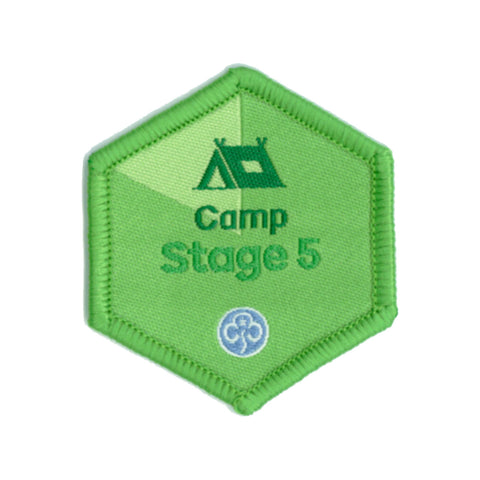 Skills Builder - Have Adventures - Camp Stage 5 Woven Badge