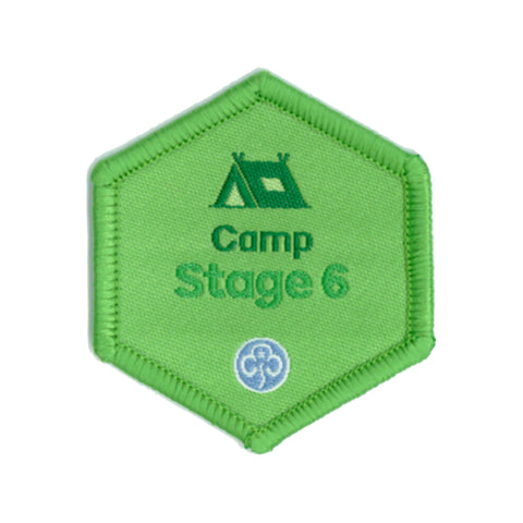 Skills Builder - Have Adventures - Camp Stage 6 Woven Badge
