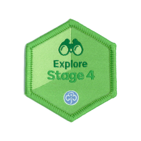 Skills Builder - Have Adventures - Explore Stage 4 Woven Badge