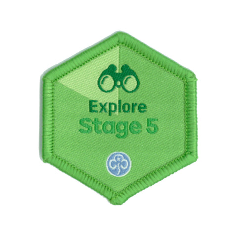 Skills Builder - Have Adventures - Explore Stage 5 Woven Badge